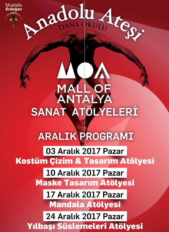 Anadolu atesi sanat atolyeleri mall of antalya etkinlik takvimi aralik 2017 5fe6d156 5eb1 4702 8b72 5b9135f86cad