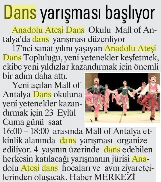 İleri Antalya 19.09.2017